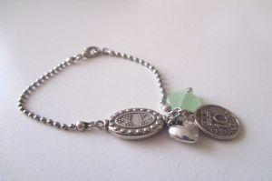 Armband bedel Jade