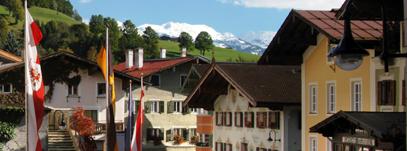 Het plaatsje Hopfgarten ligt aan de voet van de berg Hohe Salve. Ondanks de toestroom van toeristen is de identiteit van het dorpje bewaard gebleven