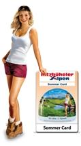 In het Brixental kunt u door middel van de Kitzbüheler Alpen Summer Card genieten van volop vakantievoordeel.