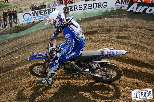 Bad luck for Ceriel Klein Kromhof in Latvian Grand Prix