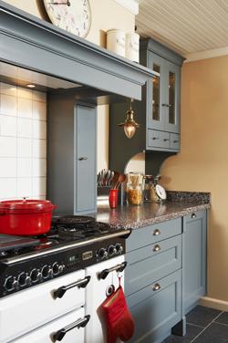 Landelijke keukens met een fantastische nostalgische landelijke uitstraling - Kleine keukenstudio ...