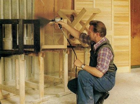 beitsen van hout