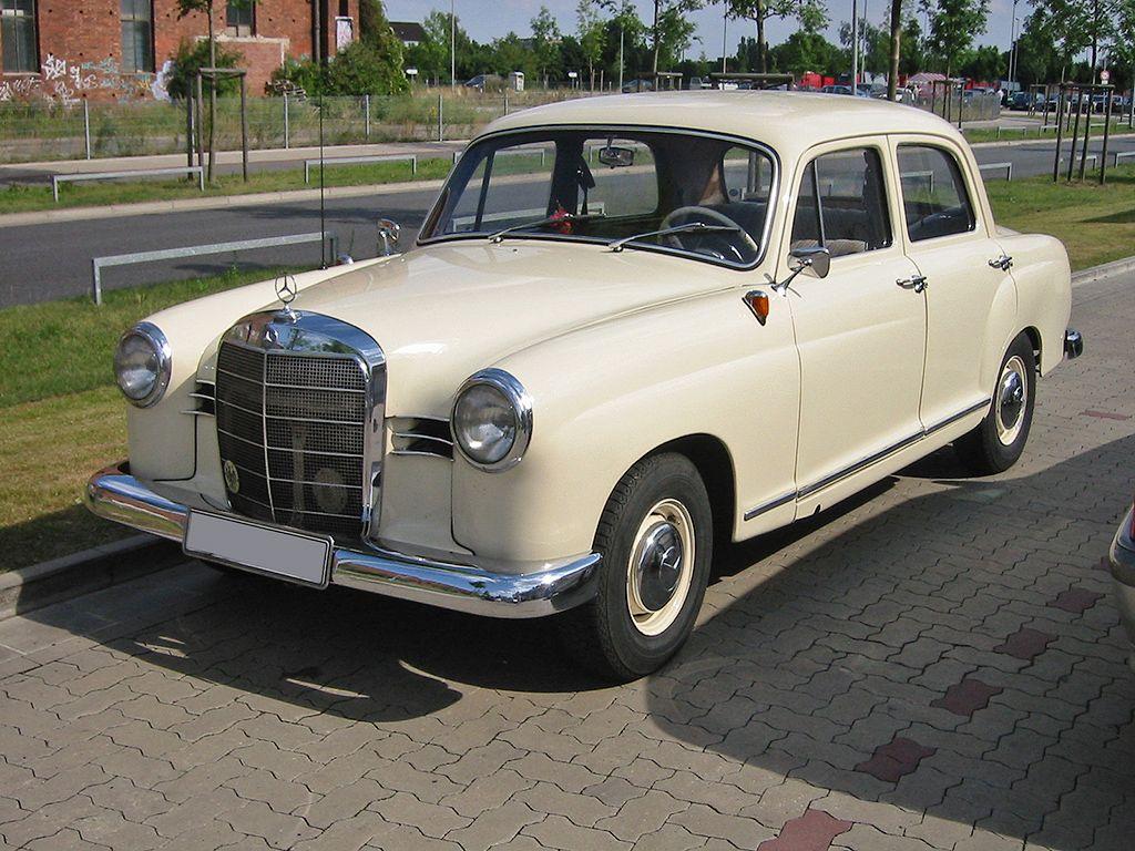 Mercedes 180 bouwjaar 1954